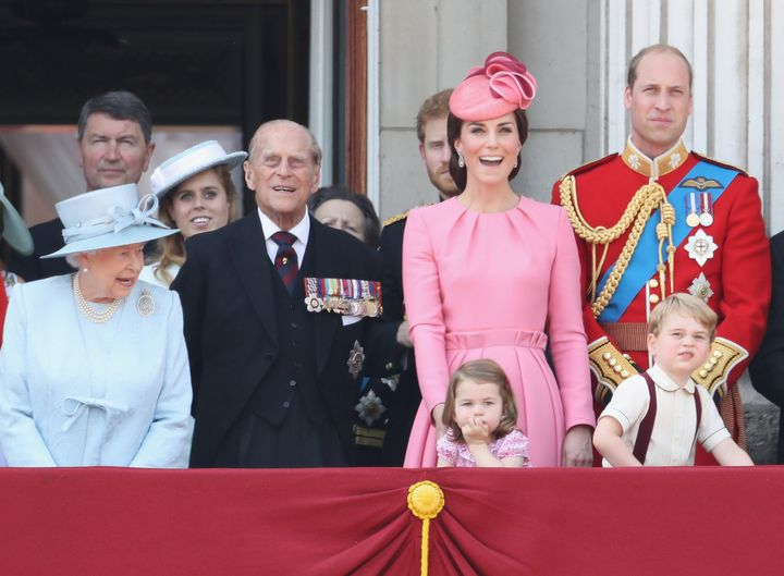 The duchess pops in pink.