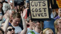 Protests Across Britain Against Tory-DUP Pact Amid Grenfell