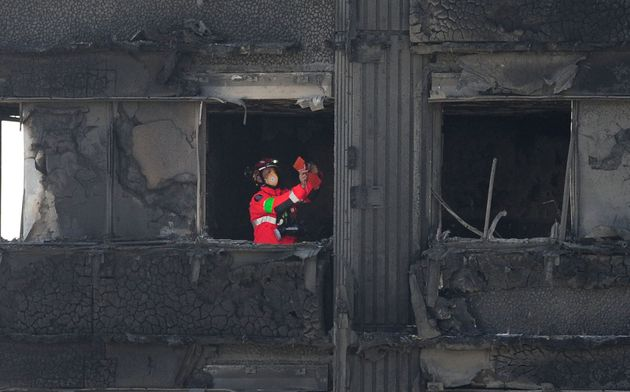 Urban Search and Rescue officers have now re-entered Grenfell