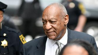 Bill Cosby walks in upon arrival for the sixth day of deliberations the aggravated indecent assault trail of the jury at Montgomery Courthouse, in Norristown, Pennsylvania, on Saturday June 17, 2017. (Photo by Bastiaan Slabbers/NurPhoto via Getty Images)