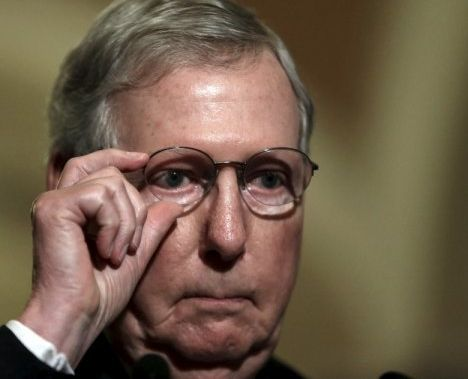 There may be a group of GOP supporters who look to Mitch McConnell, Senate Majority Leader, for leadership more so due to his