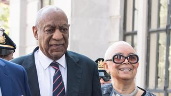 NORRISTOWN, PA - JUNE 12:  : Actor Bill Cosby and wife Camille Cosby arrive at Bill Cosby Trial at Montgomery County Courthouse on June 12, 2017 in Norristown, Pennsylvania.  (Photo by Gilbert Carrasquillo/WireImage)