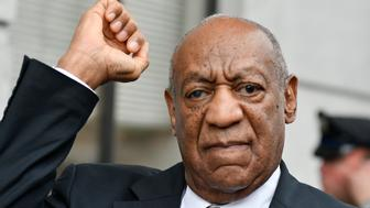 Bill Cosby reacts after judge Steven O'Neill declares a mistrial in the aggravated indecent assault trail of entertainer Bill Cosby, at Montgomery County Courthouse, in Norristown, Pennsylvania, on June 17, 2017. (Photo by Bastiaan Slabbers/NurPhoto via Getty Images)