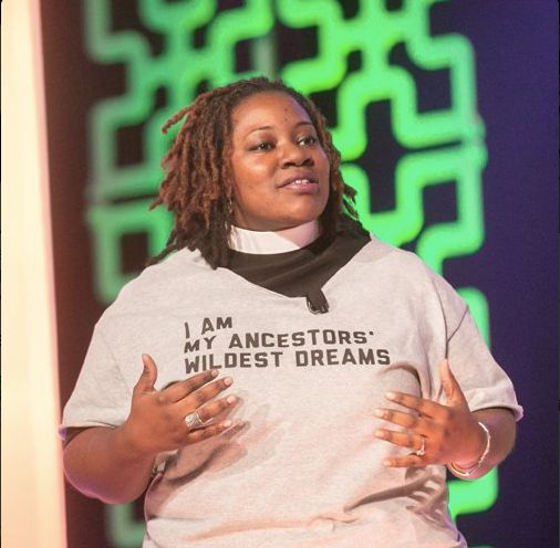 <em>Rev. Naomi Washington Leapheart: &quot;I believe that protest is a spiritual act. Faith is a counter-cultural commitment