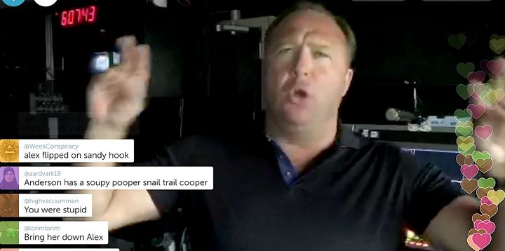 Alex Jones threatens Megyn Kelly