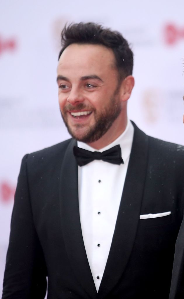 Ant McPartlin is checking into