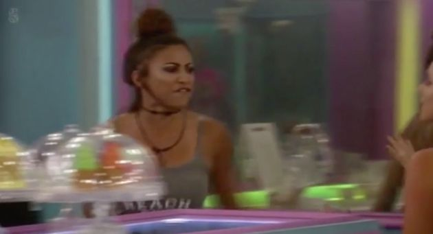 Kayleigh Morris has been removed from the 'Big Brother'