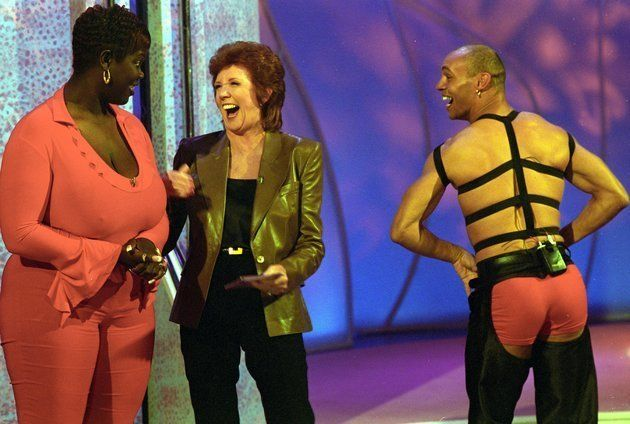 Cilla hosted 'Blind Date' on ITV from 1985 to