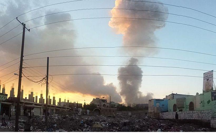 Airstrike in Sana'a