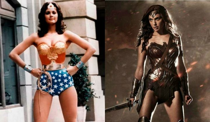 Growing up, I didn't connect to Lynda Carter's Wonder Woman. Gal Gadot's? Yes! I'm with her.