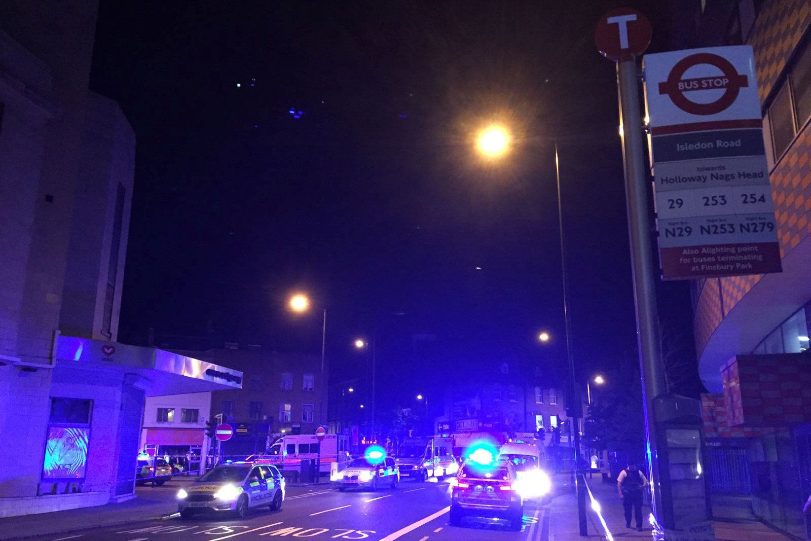 Injuries Reported After Vehicle Hits Pedestrians In