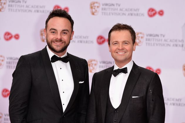 Ant and Dec at the TV Baftas last