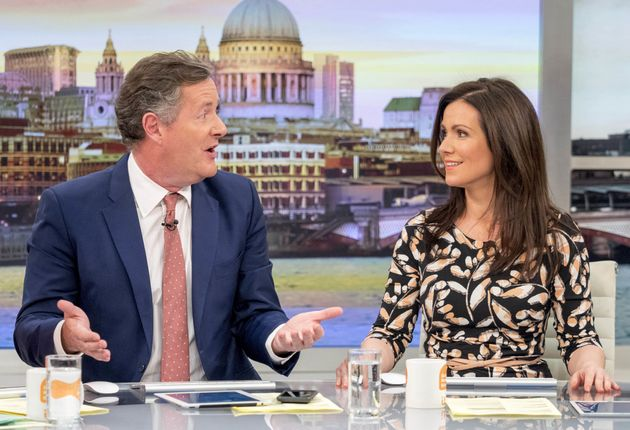 Piers has hosted 'GMB' with Susanna Reid since