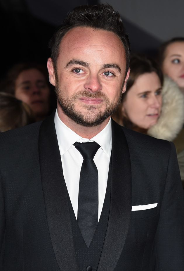 Ant McPartlin at the NTAs earlier this