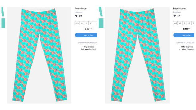 Penis Unicorn Leggings Are The NSFW Clothes The World Needs Right