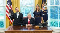 Gay Teacher Jazzes Up Donald Trump Photo With A Black Lacy