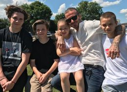 Cruz Beckham Cheekily Teased His Dad On Father's Day
