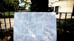 Stricken Residents Beg Visitors To Stop Taking Selfies At Grenfell
