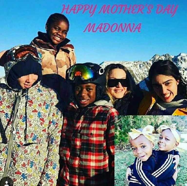 Madonna Snubs Ex Guy Ritchie In Father's Day Instagram