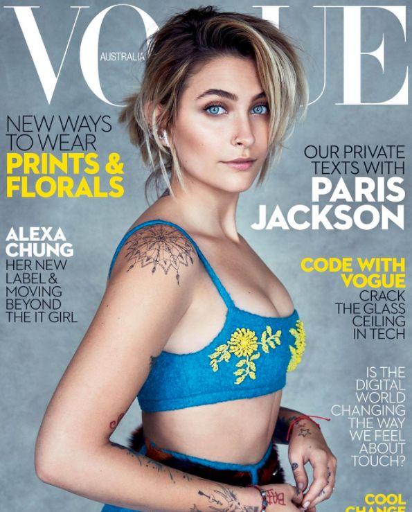 Paris Jackson 'Grateful' Vogue Did Not 'Twist' Her