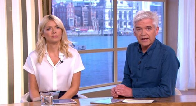 Holly Willoughby and Phillip Schofield sent Ant McPartlin their