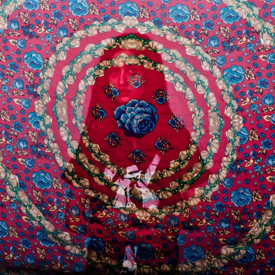 "Hossein Fatemi, Negar from the series ""Veiled Truths,"" 2013, archival inkjet print."