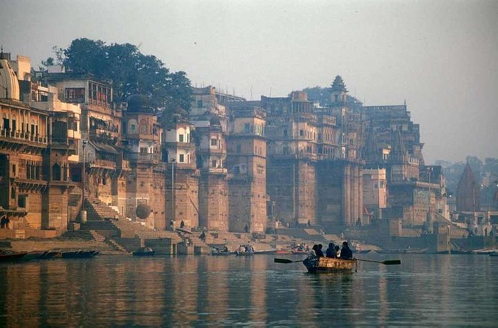 The Ganges, which flows through the sacred city of Varanasi, was granted human rights in March 2017.