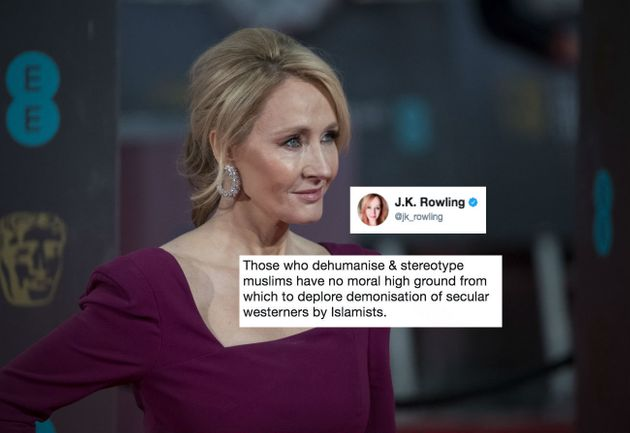 J.K. Rowling Condemns Anti-Muslim Hate After Attack On London