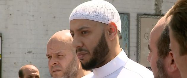 Imam Mohammed Mahmoud prevented a furious crowd from taking out their anger on the terror