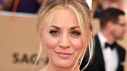 'Big Bang Theory' Actress Kaley Cuoco Rocks New Silver