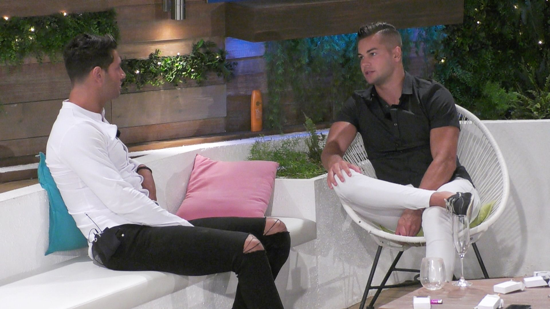 Love Island's Chris Hughes Has It Out With 'Muggy Mike' Following Olivia Attwood