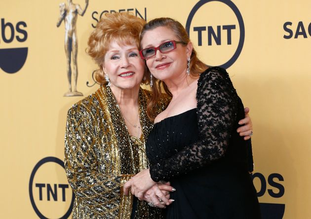 Carrie's mother, Debbie Reynolds, died just days after she did and the two women were laid to rest