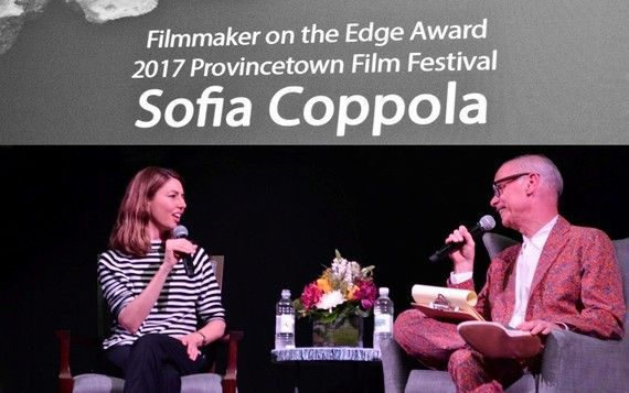 Sofia Coppola and John Waters
