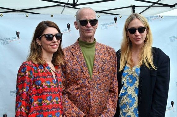 Sofia Coppola (L-R) John Waters and  Chloë Sevigny