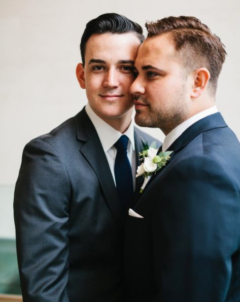 """""""Derek and Kevin, thank you for choosing me as your wedding photographer. I know this day was so incredibly special for the t"""