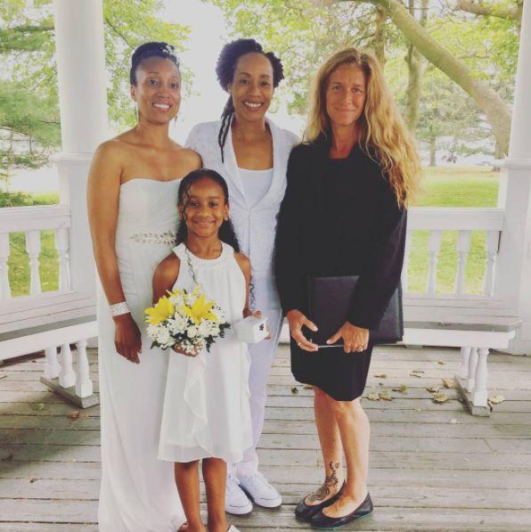 """Sarah had the joy to officiate Rachel and Asha's wedding!"" --<i>Andrea Purtell</i>"