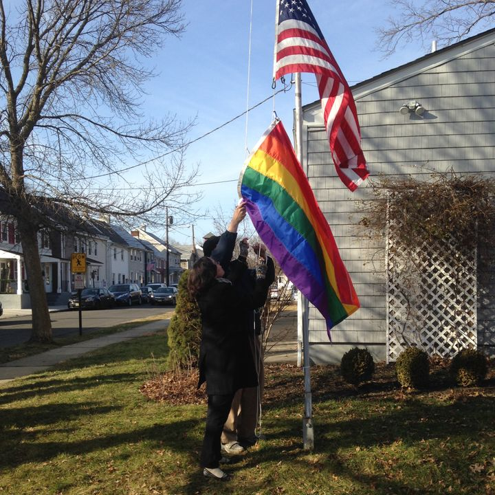 Rainbow Flag Dedication Service, Dorothea Dix Unitarian Universalist Community (Bordentown, NJ)