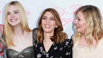 LOS ANGELES, CA - JUNE 12:  (L-R) Actors Nicole Kidman, Elle Fanning, director Sofia Coppola and actor Kirsten Dunst attend the premiere of Focus Features' 'The Beguiled' at Directors Guild Of America on June 12, 2017 in Los Angeles, California.  (Photo by Rich Fury/Getty Images)