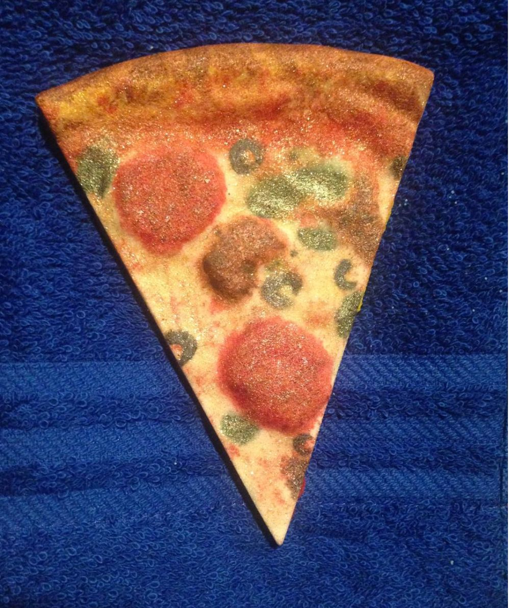 This Pizza Bath Bomb Even Smells Like Pizza. Yes, Really.