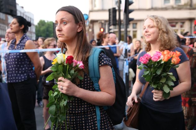 Finsbury Park Vigil Sees Hundreds of People Lay Flowers In Show Of