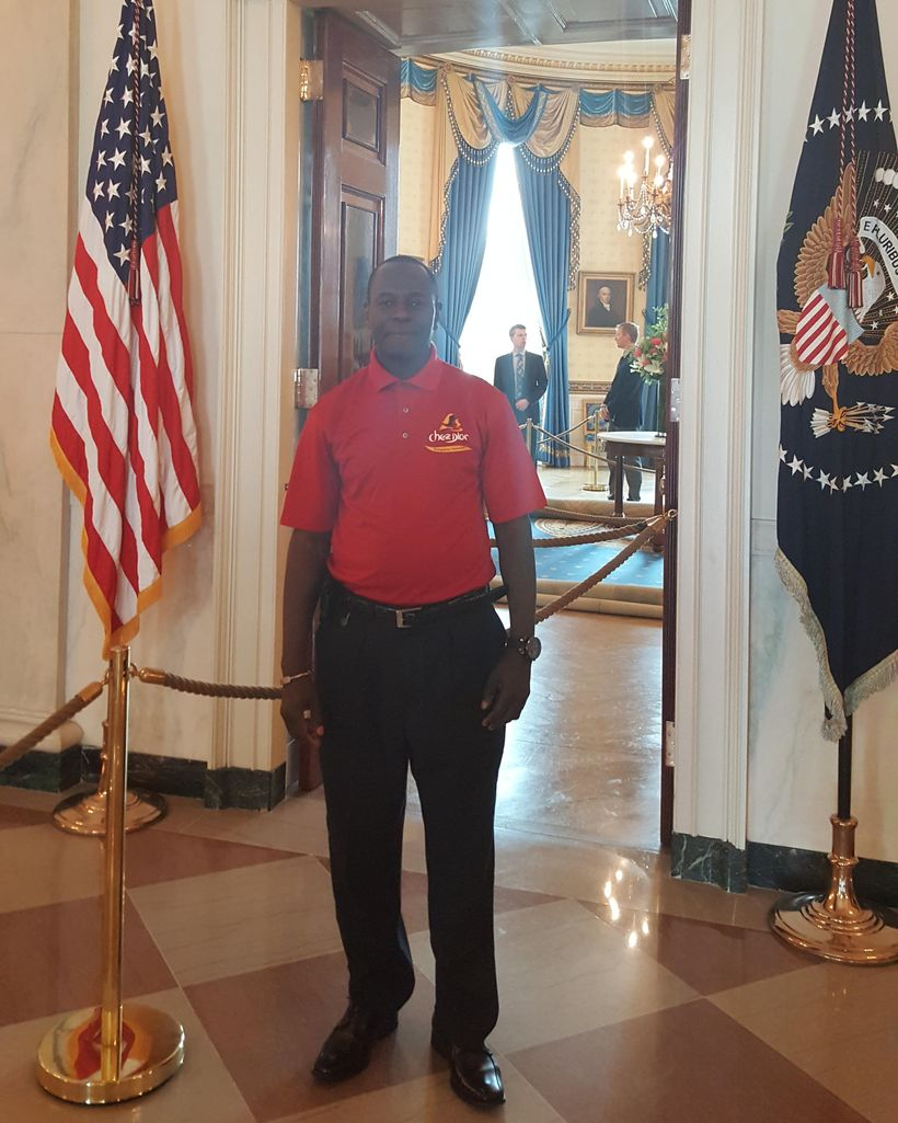 """Restauranteur -""""Chef Mamadou Fall"""" at the White House"""