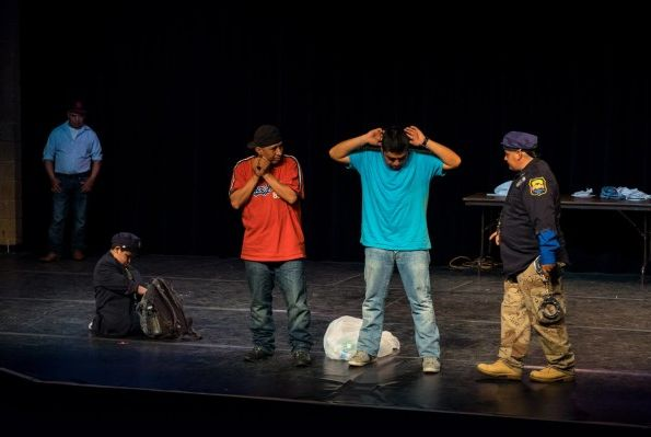 Theatre of the Oppressed NYC - Latinx troupe (Laguardia Performing Arts Center)
