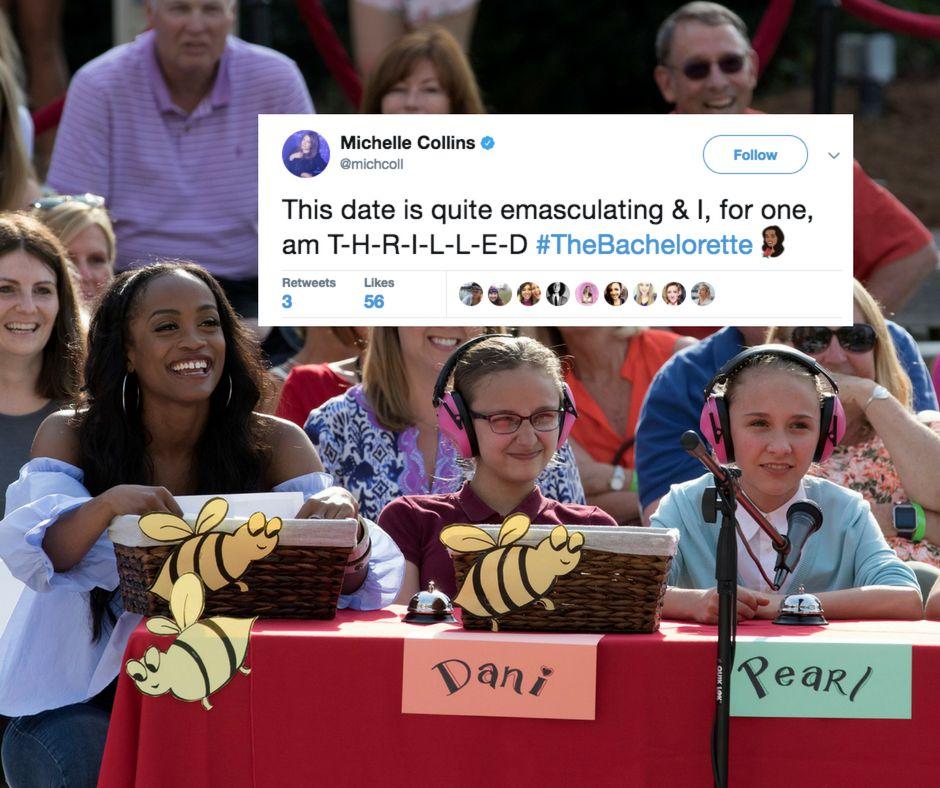 Spelling bee queens.
