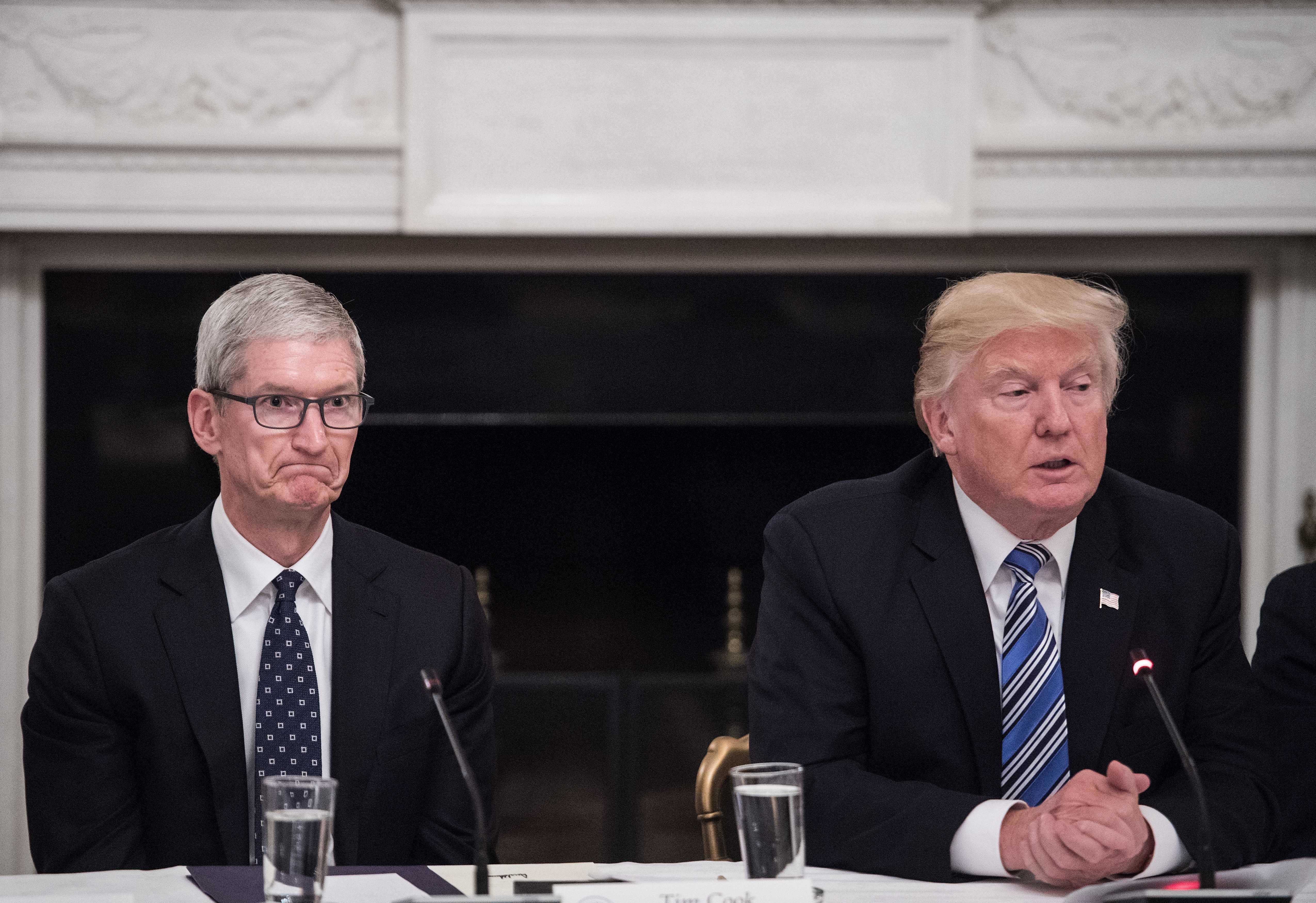 Tech Leaders Met With Trump, And The Looks On Their Faces Said It