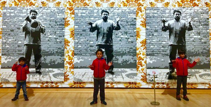 <p>Ai Weiwei @ Meijer Gardens. Grand Rapids, MI</p>