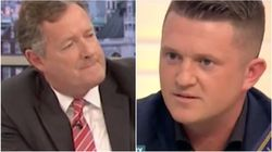 Piers Morgan And Tommy Robinson Trade Blows In Furious 'GMB'