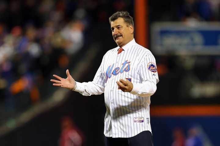 The color commentary of Keith Hernandez, pictured in 2015, turned off-color Monday.