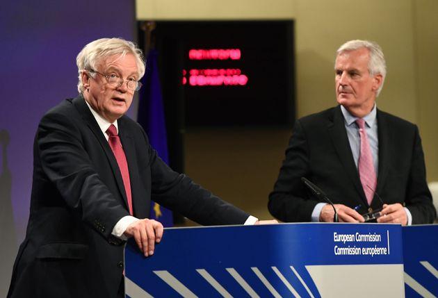 Brexit Secretary David Davis and the EU's Chief Negotiator Michel Barnier kicked off the talks on