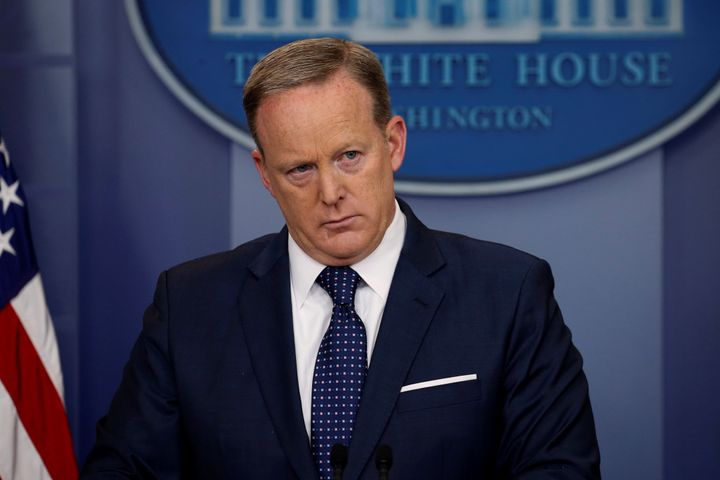White House press secretary Sean Spicer will often not answer even basic questions about the president, claiming th