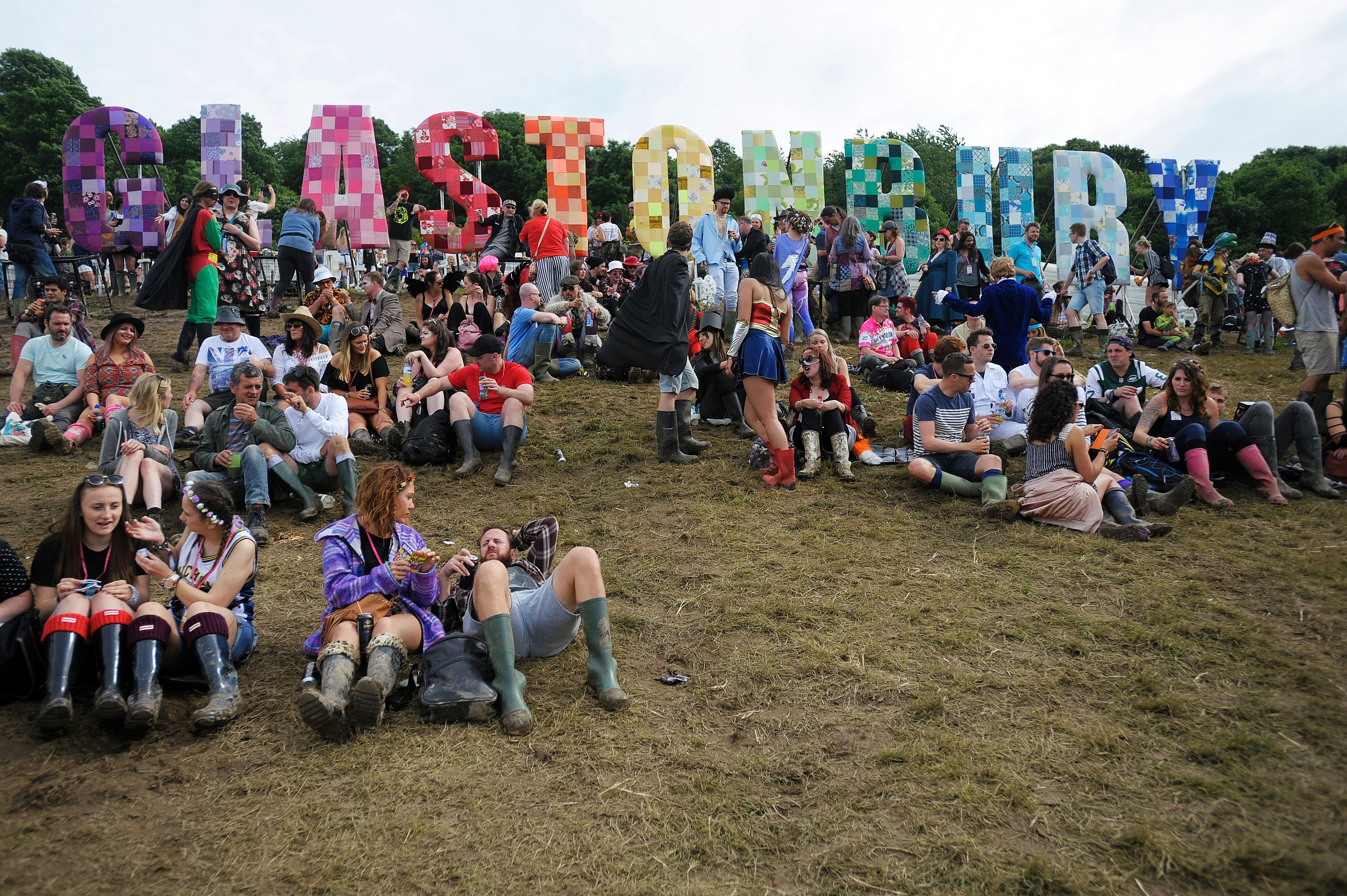 Glastonbury Is The UK's 'Most Promiscuous' Music